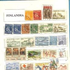 Sellos: LOTE DE SELLOS DE FINLANDIA. Lote 201894446