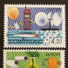 Sellos: FINLANDIA, EUROPA Y LOS DESCUBRIMIENTOS 1994, MNH (FOTOGRAFÍA REAL). Lote 203334256