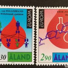Sellos: ALAND, EUROPA Y LOS DESCUBRIMIENTOS 1994, MNH (FOTOGRAFÍA REAL). Lote 203334572