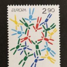Sellos: FINLANDIA, EUROPA CEPT 1995 MNH, PAZ Y LIBERTAD (FOTOGRAFÍA REAL). Lote 203369550