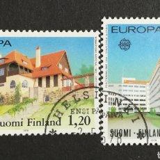 Sellos: FINLANDIA, EUROPA CEPT 1978 USADOS (FOTOGRAFÍA REAL). Lote 204822142