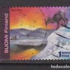Sellos: FINLANDIA 2002 - SELLO USADO. Lote 205719842