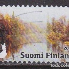 Sellos: FINLANDIA 2017 - SELLO USADO. Lote 205720310