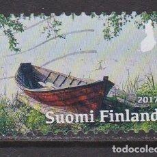 Sellos: FINLANDIA 2017 - SELLO USADO. Lote 205720353