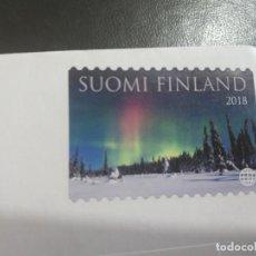 Selos: SELLOS FINLANDIA. SUOMI FINLAND AURORA BOREALIS. Lote 205796538