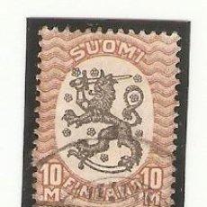 Sellos: SELLO USADO FINLANDIA. YVERT Nº 120. LEÓN. REF. 2FINLAND-120U. Lote 207038090