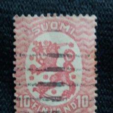 Sellos: FINLANDIA,10 MK,AÑO 1927. Lote 207656028