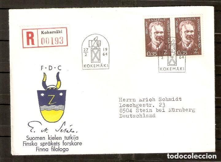 FINLANDIA. 1964. FDC MI 586 (Sellos - Extranjero - Europa - Finlandia)