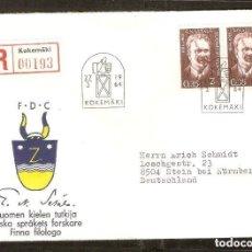 Sellos: FINLANDIA. 1964. FDC MI 586. Lote 212496448