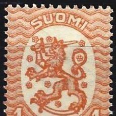 Sellos: FINLANDIA 1929 - ESCUDO NACIONAL - SELLO NUEVO **. Lote 213409816