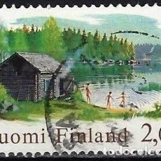 Sellos: FINLANDIA 1999 - SAUNA - SELLO USADO. Lote 213419458