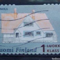 Sellos: FINLANDIA 2004 CASAS TÍPICAS SELLO USADO. Lote 213777911