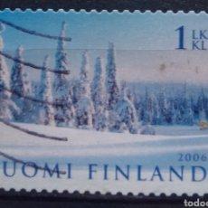 Timbres: FINLANDIA 2006 PANORÁMICA INVERNAL SELLO USADO. Lote 214520981
