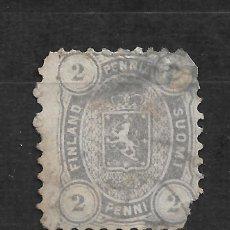 Sellos: FINLANDIA 1875 SC# 17 2P GRAY 65.00 - 18/12. Lote 215147268
