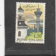 Sellos: FINLANDIA 1982 - YVERT NRO. 859 - USADO -. Lote 220484167