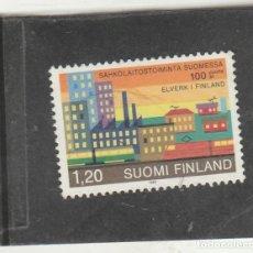 Sellos: FINLANDIA 1982 - YVERT NRO. 861 - USADO -. Lote 220484218