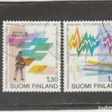 Sellos: FINLANDIA 1983 - YVERT NRO. 888-89 - USADO -. Lote 220484601