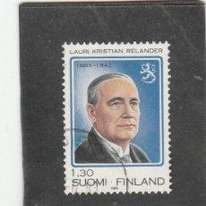 Sellos: FINLANDIA 1983 - YVERT NRO. 892 - USADO -. Lote 220484640