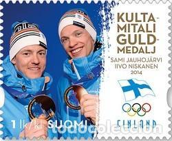 SELLO USAOD DE FINLANDIA MICHEL 2301 (Sellos - Extranjero - Europa - Finlandia)