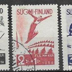 Sellos: SELLOS USADOS DE FINLANDIA YT 200/ 02. Lote 220891586