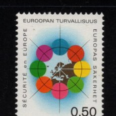 Sellos: FINLANDIA 679** - AÑO 1973 - SEGURIDAD Y COOPERACION EUROPEA. Lote 221590320