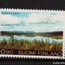 Sellos: FINLANDIA 773** - AÑO 1977 - EUROPA - PAISAJES. Lote 221590555
