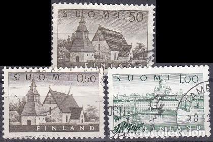 LOTE DE SELLOS - FINLANDIA - (AHORRA EN PORTES, COMPRA MAS) (Sellos - Extranjero - Europa - Finlandia)