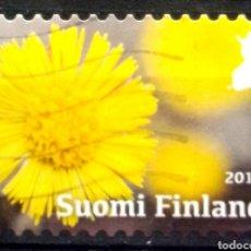 Sellos: FINLANDIA 2017 LAS ESTACIONES PRIMAVERA SELLO USADO. Lote 222739367