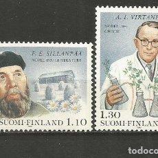 Sellos: FINLANDIA YVERT NUM. 831/834 ** SERIE COMPLETA SIN FIJASELLOS EUROPA. Lote 223057158