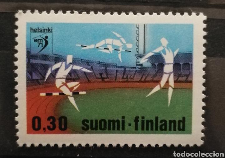 FINLANDIA, N°659 MNH**DEPORTES (FOTOGRAFÍA REAL) (Sellos - Extranjero - Europa - Finlandia)