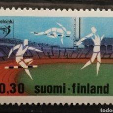 Sellos: FINLANDIA, N°659 MNH**DEPORTES (FOTOGRAFÍA REAL). Lote 225154027