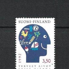 Sellos: FINLANDIA 1992 SERIE COMPLETA ** MNH - 1/3. Lote 226744660