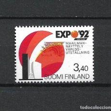 Sellos: FINLANDIA 1992 SERIE COMPLETA ** MNH EXPO 92 SEVILLA - 1/3. Lote 226744700