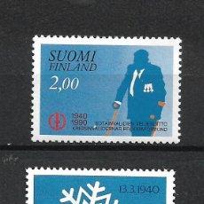 Sellos: FINLANDIA 1990 SERIE COMPLETA ** MNH - 1/3. Lote 226744735