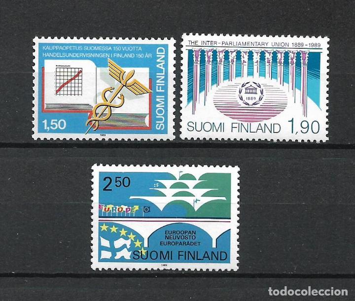 FINLANDIA 1989 SERIE COMPLETA ** MNH - 1/3 (Sellos - Extranjero - Europa - Finlandia)