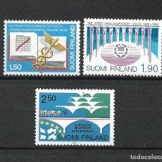 Sellos: FINLANDIA 1989 SERIE COMPLETA ** MNH - 1/3. Lote 226744755