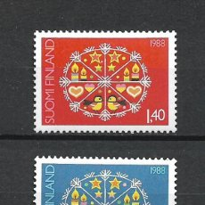 Sellos: FINLANDIA 1988 SERIE COMPLETA ** MNH NAVIDAD - 1/3. Lote 226744805