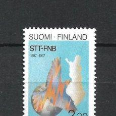Sellos: FINLANDIA 1987 SERIE COMPLETA ** MNH - 1/3. Lote 226744835