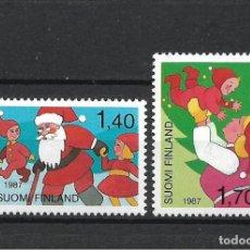 Sellos: FINLANDIA 1987 SERIE COMPLETA ** MNH NAVIDAD - 1/3. Lote 226744890