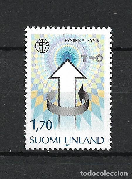 FINLANDIA 1987 SERIE COMPLETA ** MNH EUROPEAN PHYSICS SOC. 7TH GEN. CONF. - 1/3 (Sellos - Extranjero - Europa - Finlandia)
