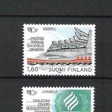 Sellos: FINLANDIA 1986 SERIE COMPLETA ** MNH NORDIC COOPERATION - 1/3. Lote 226745025