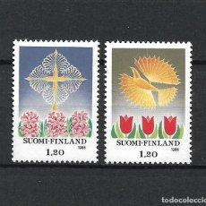 Sellos: FINLANDIA 1985 SERIE COMPLETA ** MNH NAVIDAD - 1/3. Lote 226745049