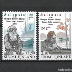 Sellos: FINLANDIA 1985 SERIE COMPLETA ** MNH 150TH ANNIV. OF KALEVALA. - 1/3. Lote 226745080