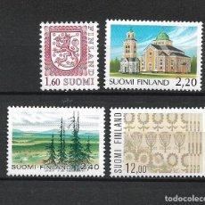 Sellos: FINLANDIA 1985 SERIE COMPLETA ** MNH - 1/3. Lote 226745095