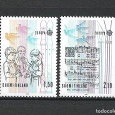 Sellos: FINLANDIA 1985 SERIE COMPLETA ** MNH EUROPA CEPT - 1/2. Lote 226745120
