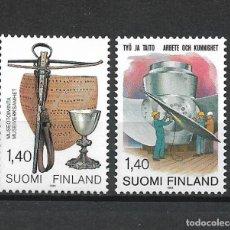 Sellos: FINLANDIA 1984 SERIE COMPLETA ** MNH - 1/2. Lote 226745160