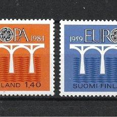 Sellos: FINLANDIA 1984 SERIE COMPLETA ** MNH EUROPA CEPT - 1/2. Lote 226745185