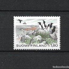 Sellos: FINLANDIA SERIE COMPLETA ** MNH AVES - 1/2. Lote 226745240