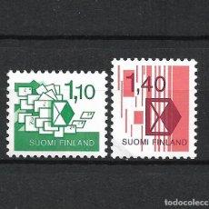 Sellos: FINLANDIA 1984 SERIE COMPLETA ** MNH INAUGURATION OF NORDIC POSTAL RATES - 1/2. Lote 226745255