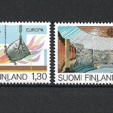 Sellos: FINLANDIA 1983 SERIE COMPLETA ** MNH EUROPA CEPT - 1/2. Lote 226745350
